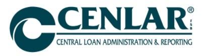 CENLAR Mortgage Payoff