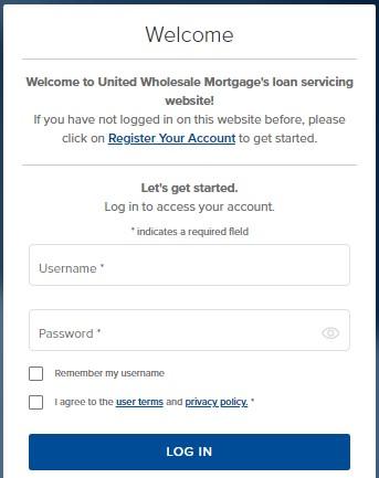 login Loanadministration UWM